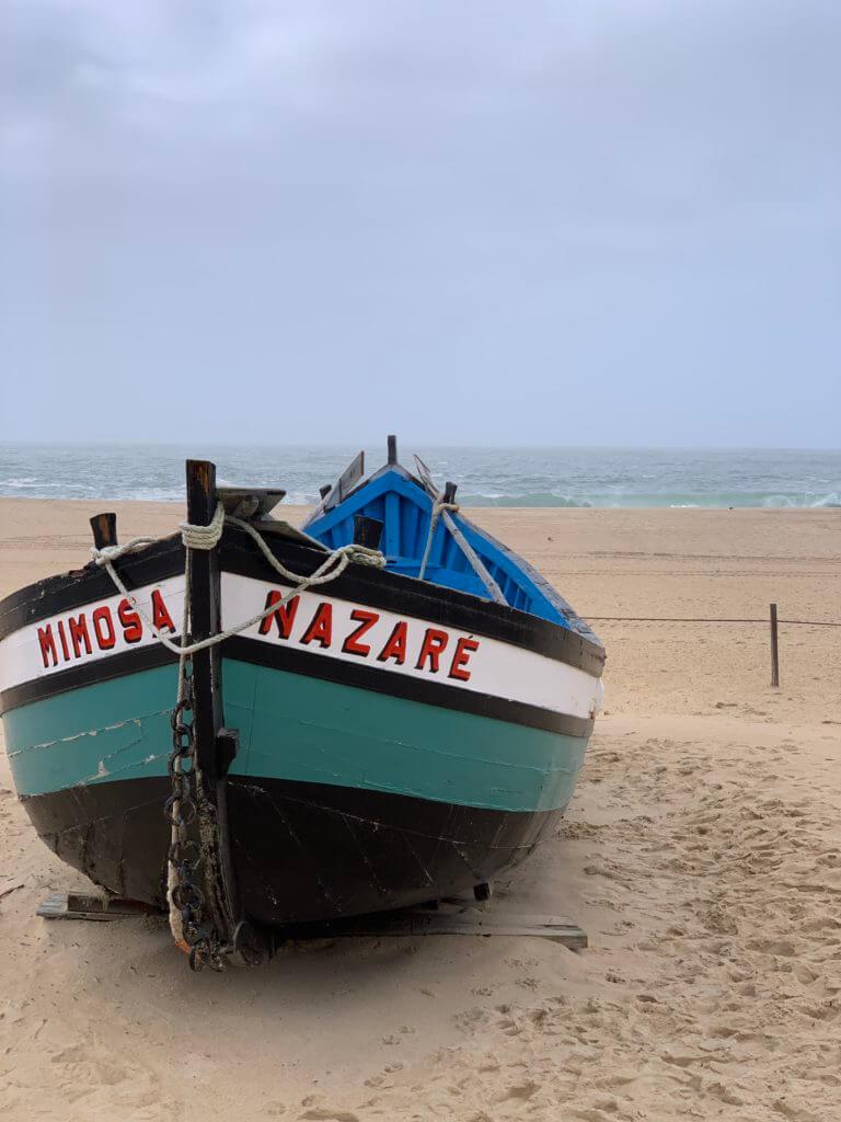nazare fishing boat mimosa